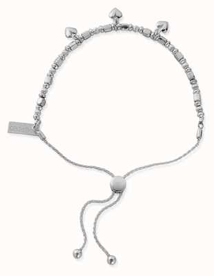 ChloBo Triple Star Adjuster Bracelet | Sterling Silver SBA1199
