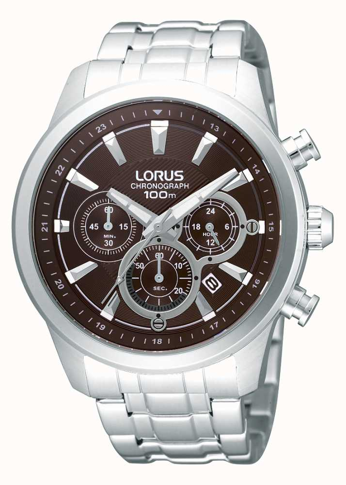 Lorus Mens Chronograph Watch Rt359ax9 First Class Watches Usa
