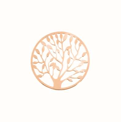 MY iMenso Tree Of Life Cover Insignia 24mm (925/Rosegold-P 24-0482