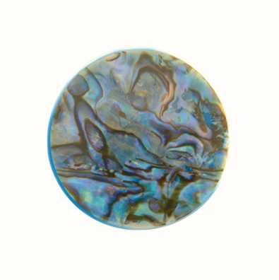 MY iMenso Abalone In Resin 33mm Shell Insignia 33-0561