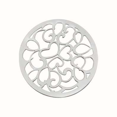 MY iMenso Hearts Cover 33mm Insignia (925/Rhod-Plated) 33-0644