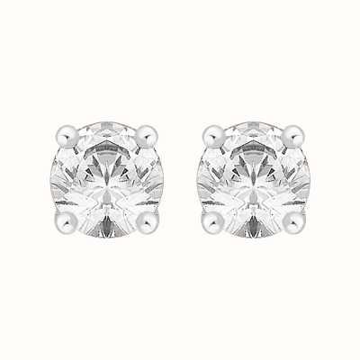 Perfection Swarovski Single Stone Four Claw Stud Earrings (2.00ct) E0200-SK