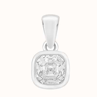 Perfection Swarovski Single Stone Rubover Imperial Mosaic Pendant (1.00ct) P5677-SK