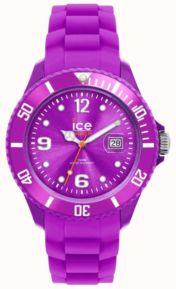 Обратите внимание, что на ремешке в настоящих часах рельефно нанесен официальный сайт, а в подделках обычно наносят надписи ice watch или вовсе ничего.