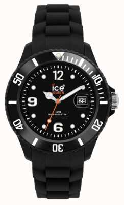 Ice-Watch Unisex Black Silicon SI.BK.U.S