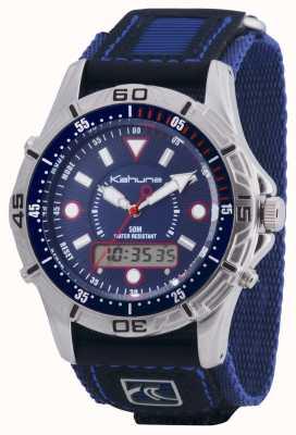 Kahuna Mens Quick Release Velcro Chronograph Blue K5V-0005G