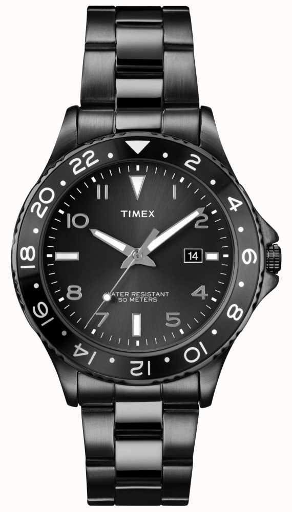 Timex Gent s Sport Stainless Steel Bracelet Watch T2P028 - First ... fed9bad34e4