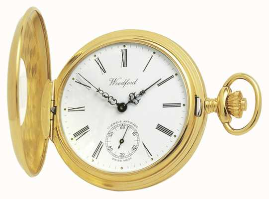 Woodford | Half Hunter | Gold Plated | Pocket Watch | 1015