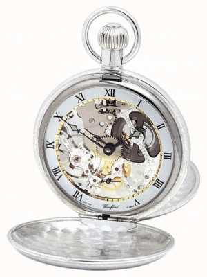 Woodford | Hunter Skeleton | Double Lid | Silver | Pocket Watch | 1003