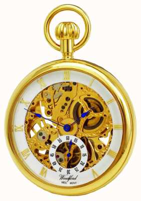 Woodford Open Face Mechanical Pocket Watch 1044
