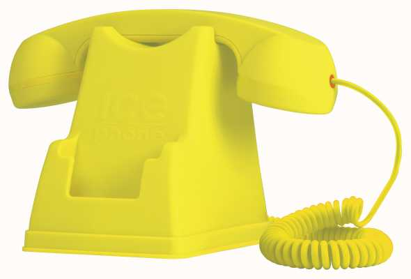 Ice-Watch Retro Yellow Mobile Phone Handset Station IPF.YW