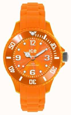 Ice-Watch Children's Forever Sili Date Display Orange SI.OE.M.S