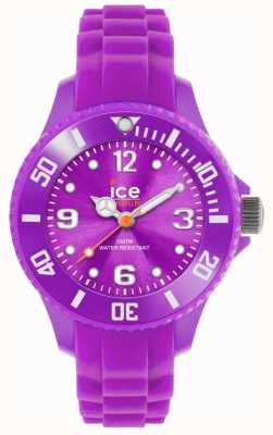 Ice-Watch Children's Forever Silicone Purple SI.PE.M.S
