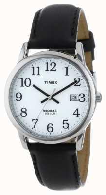 Timex Men's White Black Easy Reader Watch T2H281