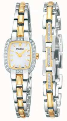 Pulsar Ladies' Two Tone Watch PEGG43X2