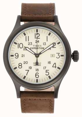Timex Mens Expedition Scout Brown Watch T49963