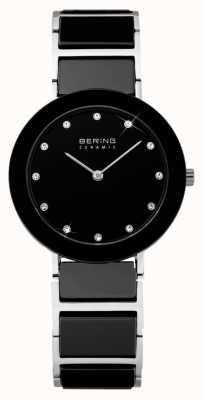 Bering Ceramic & Metal Bracelet Watch 11429-742