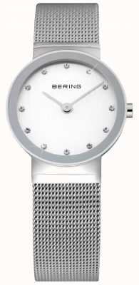 Bering Time Ladies Watch | Stainless Steel Silver Mesh Strap | 10126-000