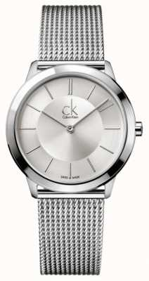 Calvin Klein Minimal Collection | Stainless Steel Mesh Strap | K3M22126