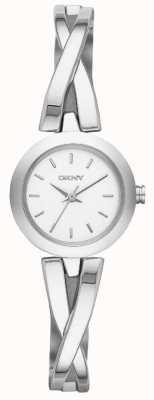 DKNY Ladies Crosswalk Silver Watch NY2169