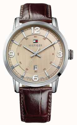 Tommy Hilfiger Mens George Watch With Cream Dial 1710343