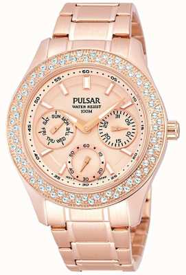Pulsar Ladies' Multi Function Steel Dress Watch PP6120X1