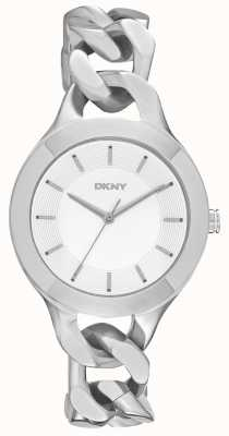 DKNY Ladies Chambers Silver Watch NY2216