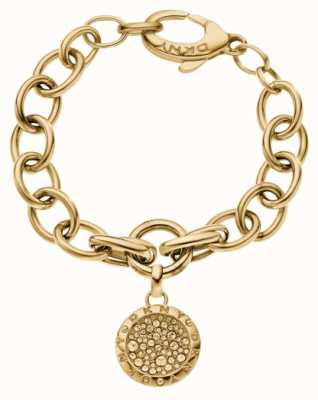 DKNY Gold Pvd plated Sparkle Bracelet NJ2028040