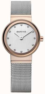 Bering Women's Classic Rose Gold-Tone Watch 10126-066