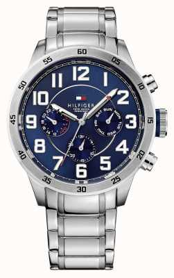 Tommy Hilfiger Trent Men's Chronograph Blue Dial Watch 1791053