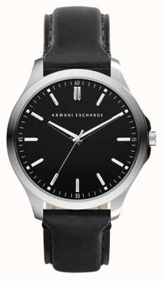 Armani Exchange Mens Leather Strap Watch AX2149