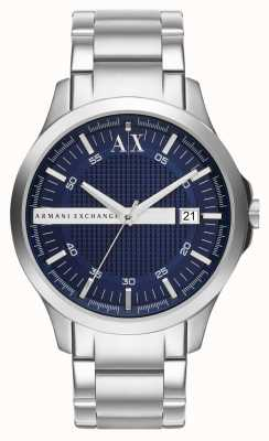 Armani Exchange Hampton Mens Blue Dial AX2132
