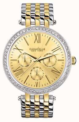Caravelle New York Ladies Multi Link Watch 45N100