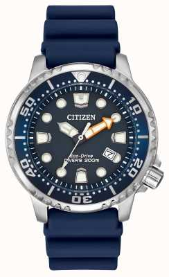 Citizen Promaster Professional Diver Blue Rubber BN0151-09L