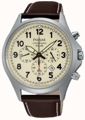 Pulsar Mens Solar Sport Chronograph Watch PX5005X1