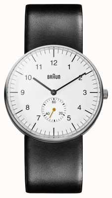 Braun Mens White Black Watch BN0024WHBKG