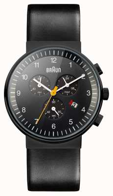 Braun Mens Chronograph All Black Watch BN0035BKBKG