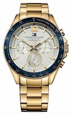 Tommy Hilfiger Mens Luke Gold Tone Watch 1791121