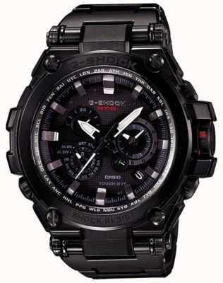 Casio Premium Solar Radio Controlled G-Shock Black MTG-S1000BD-1AER