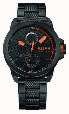 Hugo Boss Orange Mens Black IP Black Dial 1513157
