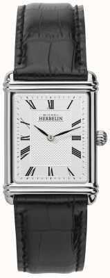 Michel Herbelin Men's, Analogue Quartz, Leather Strap 17468/08