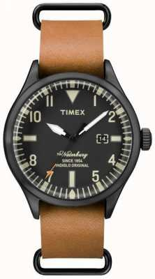 Timex Mens The Waterbury Light Brown Leather Strap TW2P64700