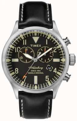 Timex Mens The Waterbury Chronograph Black TW2P64900