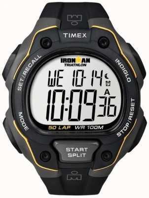 Timex Mens Timex Ironman 50Lap Full Size Premium Alarm T5K494