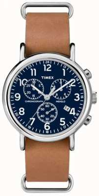 Timex Mens Weekender Chronograph Oversized TW2P62300