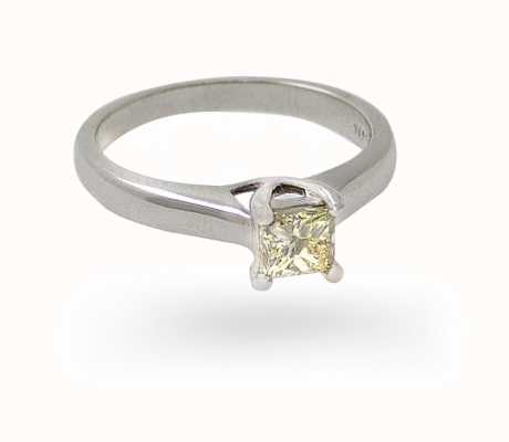 18k White Gold 0.35ct Solitaire Ring JM2631