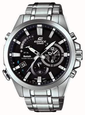 Casio Edifice Bluetooth Sync Tough Solar Smartwatch Day/Date EQB-510D-1AER