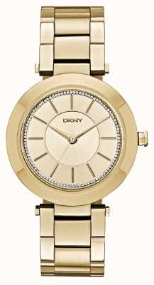 DKNY Womens Stanhope 2.0 Gold Tone PVD Plated NY2286