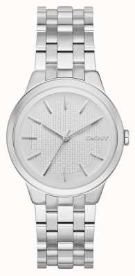 DKNY Womens Park Slope Stainless Steel NY2381