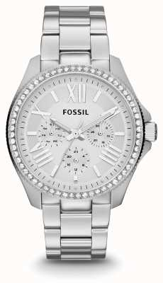 Fossil Womens Cecile Stainless Steel Stone Set AM4481